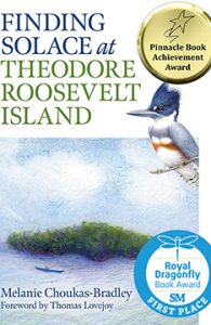 Book cover for Finding Solace at Theodore Roosevelt Island by Melanie Choukas-Bradley