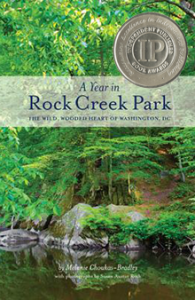 Cover of the book A Year in Rock Creek Park, winner of the IPPY Award, Silver Medal for Mid-Atlantic nonfiction